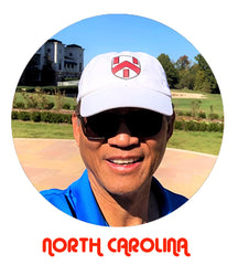 The Crest Cap Sightings of Golfer In North Carolina