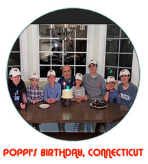 The Crest Cap Sightings of Poppis Birthday in Connecticut