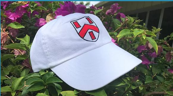 The Crest Cap in White