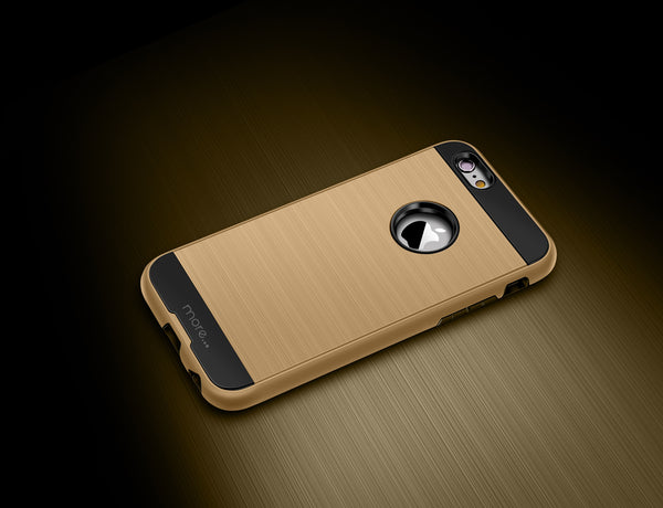 iPhone 6S gold case duo tough extreme from more-case.co.uk
