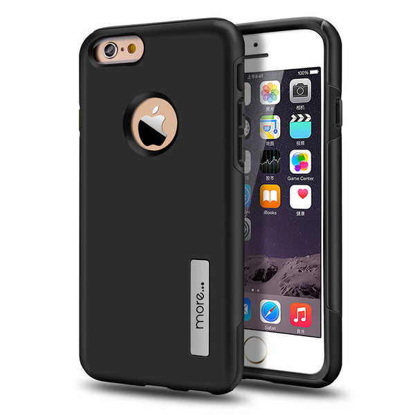iPhone 6S/6 Armour Protection Case - Black
