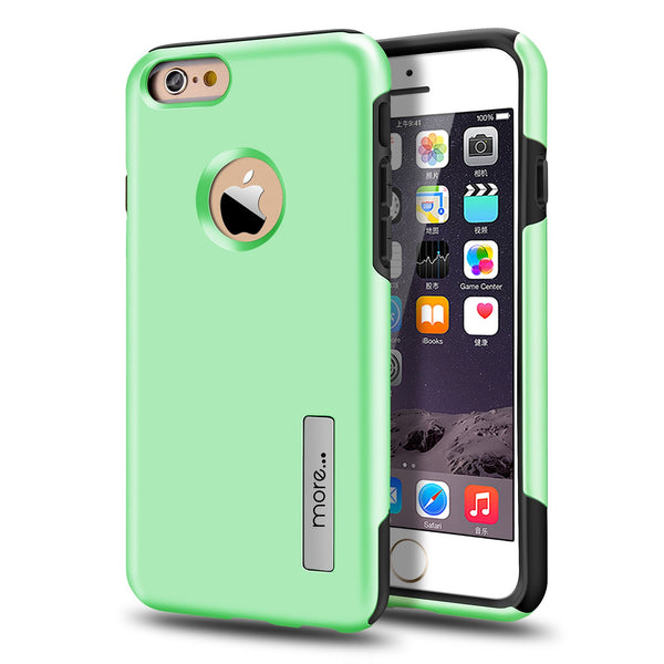 iPhone 6S/6 Armour Protection Case - Mint Green