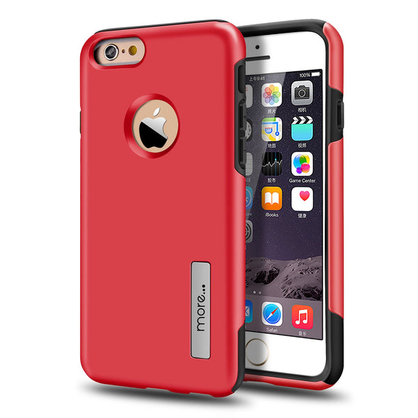 iPhone 6S/6 Armour Protection Case - Red