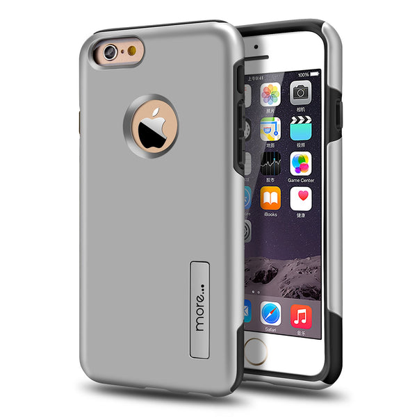 iPhone 5/5S Armour Protection Case - Silver