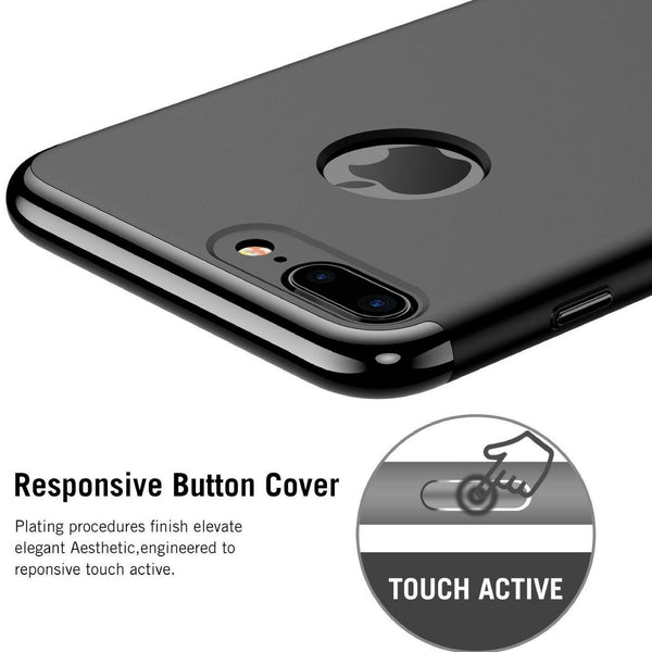 3 in 1 Series Cases + Glass [7 Colours] for All iPhone Models