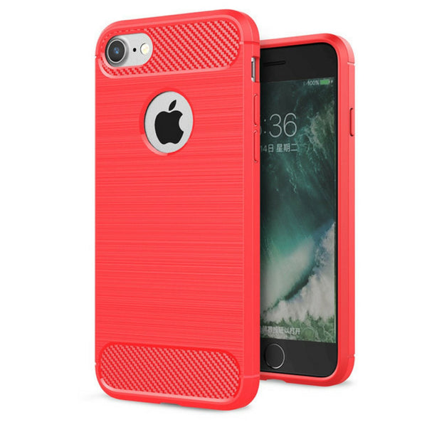 "Brushed Carbon Armour Slim Series Case for Apple iPhone 6 / 6s Plus [5.5""]"