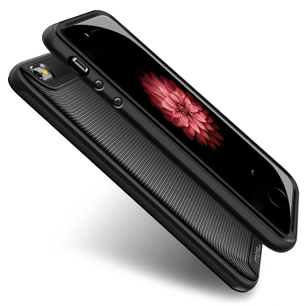 More® Duo Hybrid Series Case for iPhone 5 / 5S - Jet Black