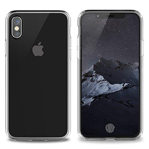 Crystal Clear Fusion Case for iPhone X
