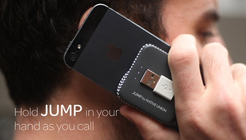 Jump Cable - 2-in-1 Cable + Battery Solution for iPhone 5 | 5S | 5C