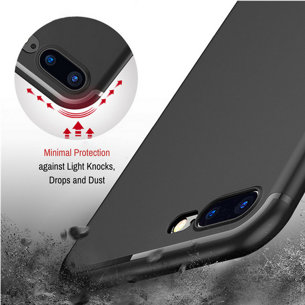Invisible Silicone Case [Black]