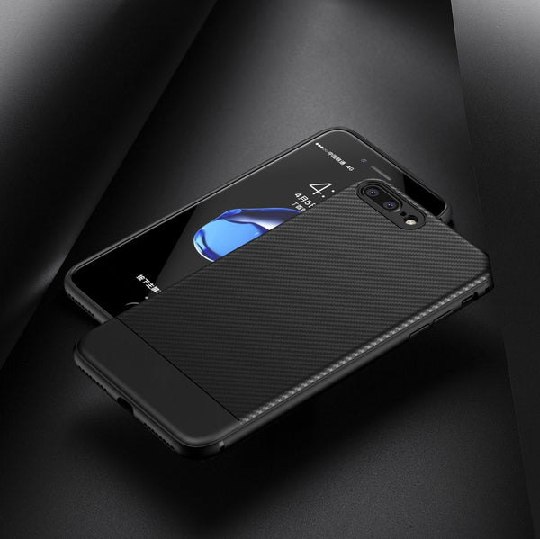 Black Carbon Fibre Case for All iPhone Models