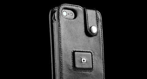 Sena MagnetFlipper - Leather iPhone 5 Case