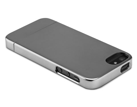 Incase iPhone 5 Slider Case - Metallic Grey