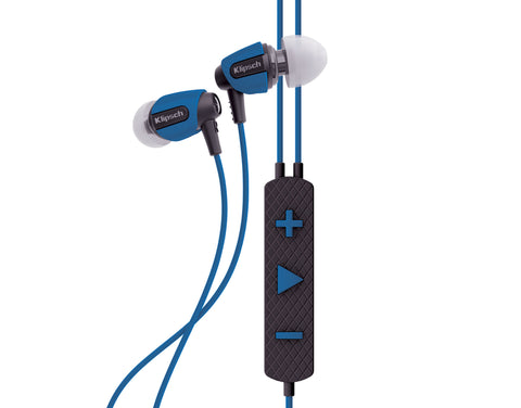 Klipsch S4i Rugged In-Ear Headphones Blue