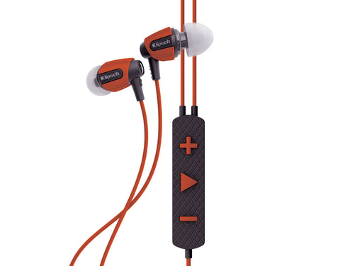 Klipsch S4i Rugged In-Ear Headphones Orange