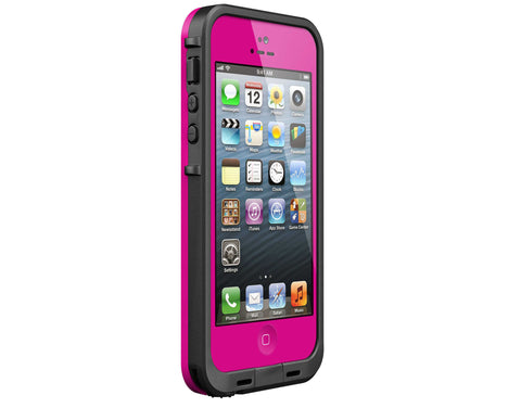 LifeProof frē White iPhone 5 Case - Magenta