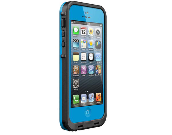 LifeProof frē White iPhone 5 Case - Cyan