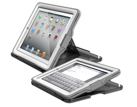 LifeProof nüüd Case & Cover/Stand for iPad - White/Grey