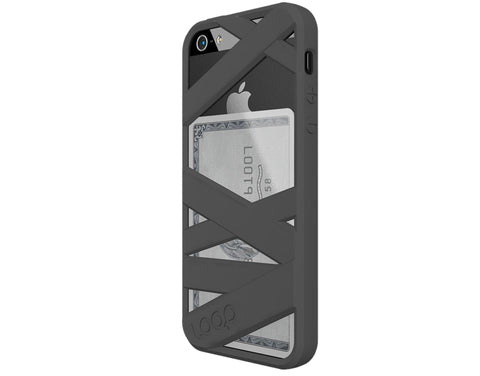 Loop Mummy Case for iPhone 5 Graphite Grey