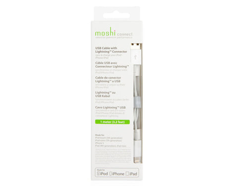 Moshi Lightning to USB Sync & Charge Cable