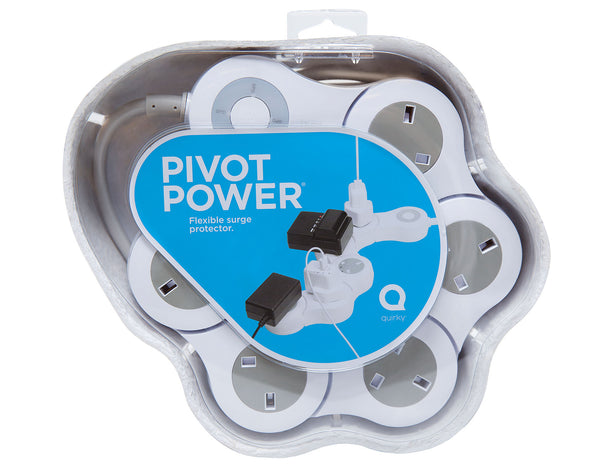 Quirky Pivot Power - Charge all your Apple accessories