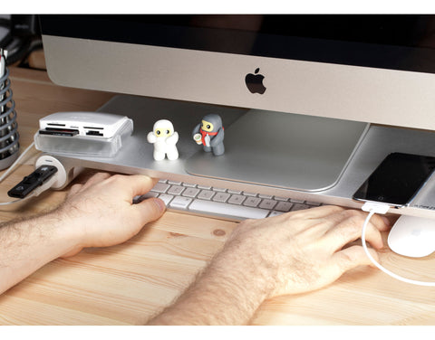 Space Bar for iMac - More Space. More Ports.