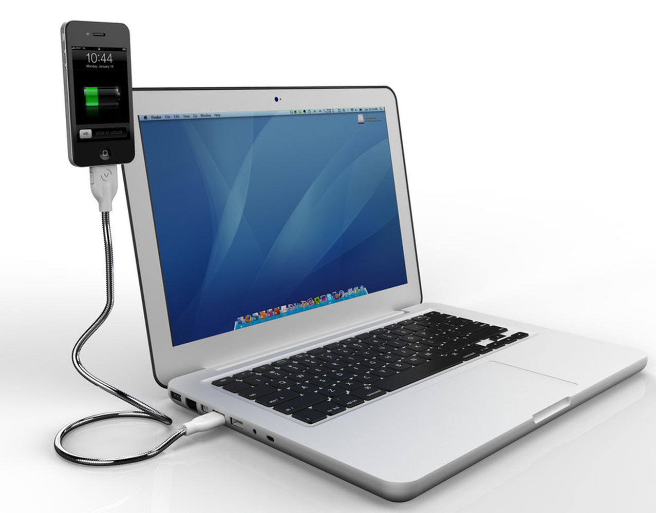 Une Bobine For iPhone 4 & iPod touch Sync & Charging Cable