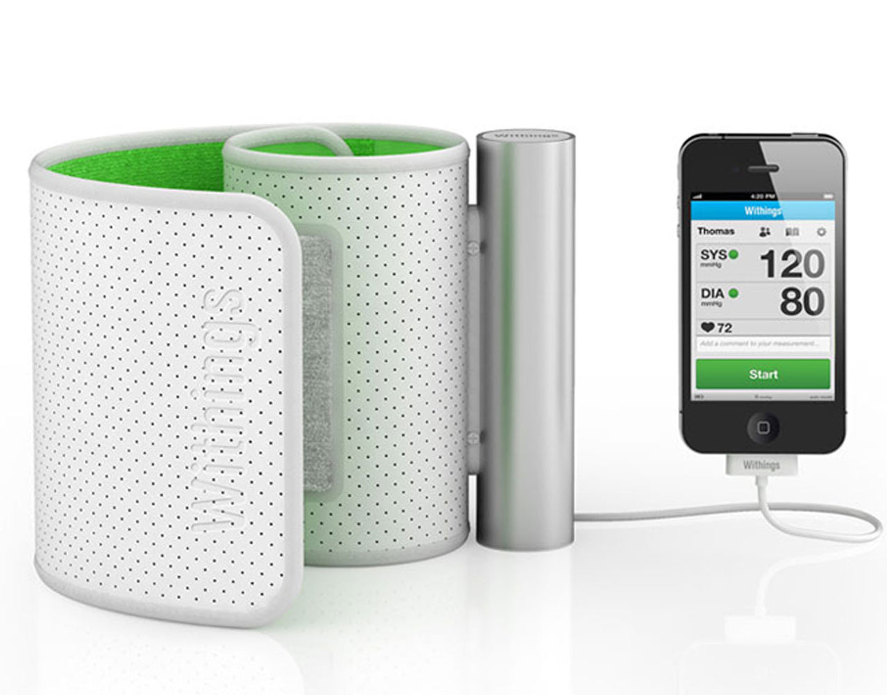 Withings Blood Pressure Monitor for iPhone, iPad and iPod touch