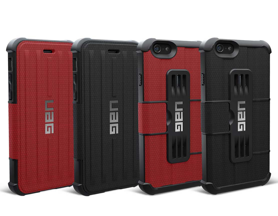 UAG Folio Cases [2 Colours] for iPhone 6 Plus / 6s Plus