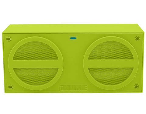 iHome iBT24 Rechargeable Bluetooth Mini Speaker - Green