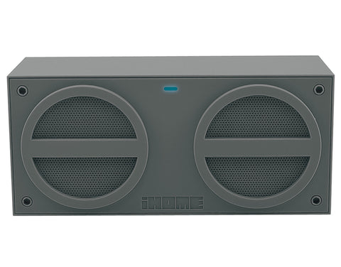 iHome iBT24 Rechargeable Bluetooth Mini Speaker - Grey