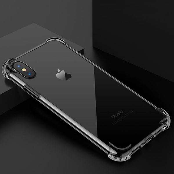Rugged Clear Case for iPhone X