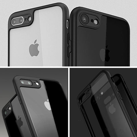 Thinnest Bumper Case + Glass for iPhone 6 Plus / 6s Plus