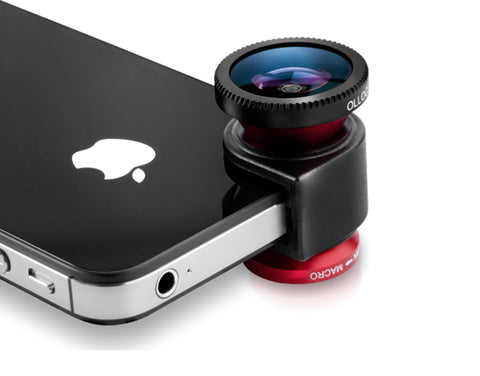 olloclip 3-in-1 Lens System For iPhone 4s/4