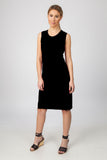 TANK DRESS- BLACK - Sha-de  - 2