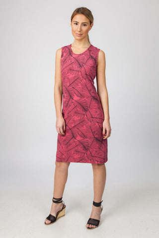 Tank Dress - Watermelon Palm Print
