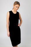TANK DRESS- BLACK - Sha-de  - 3