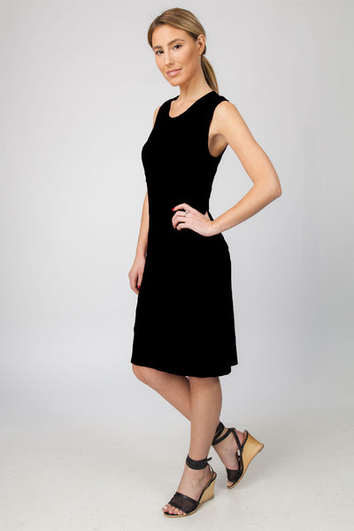 TANK DRESS- BLACK - Sha-de  - 1