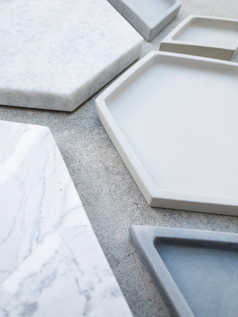Marble Tray - Lt. Green