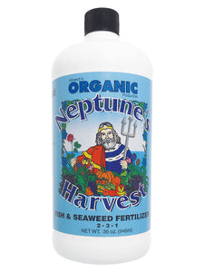 Organic Fertilizer Neptune's Harvest Fish and Seaweek