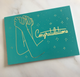 Congratulation Card with Gold Foil