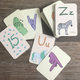 ASL Alphabet & Numbers Flashcard