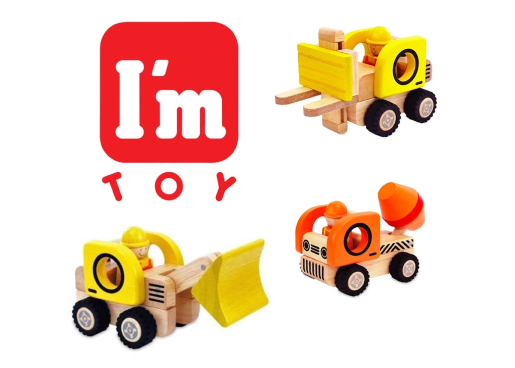 Imaginative play with I'm Toy