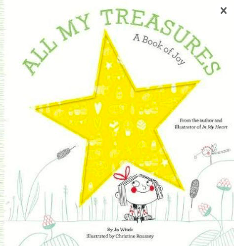 Abrams 2 Plus All My Treasures, A Book of Joy - Jo Witek, Christine Roussey