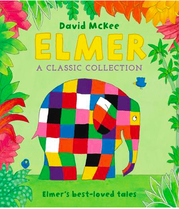 Andersen Press 3 Plus Elmer, A Classic Collection - David McKee