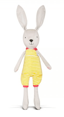 Apple Park Birth Plus Organic Knit Bunny - Benny