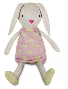 Apple Park Birth Plus Organic Knit Bunny - Luella