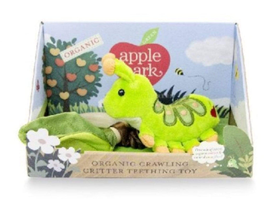 Apple Park Birth to 12 Months Crawling Critter - Caterpillar