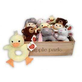 Apple Park Birth to 12 Months Soft Rattle