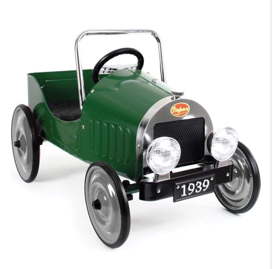 Baghera Pedal Car Green front view